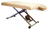 table massage et traitement aluminium
